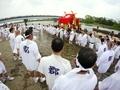 松尾祭神幸祭船渡御上陸2