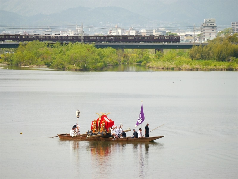 松尾祭神幸祭船渡御2