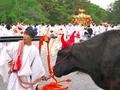 御苑巡幸~牛と神輿@上御霊神社御霊祭(還幸祭)