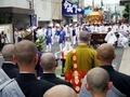 僧侶による法要@上御霊神社御霊祭(還幸祭)