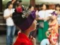 踊り子@白峯神宮精大明神例祭