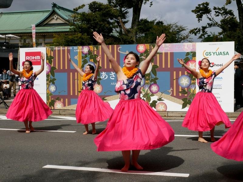 京都学生祭典の風景