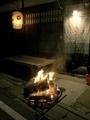 かがり火@鞍馬火祭り