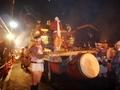 御神輿の巡行@鞍馬火祭り