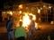火を囲んで@鞍馬火祭り