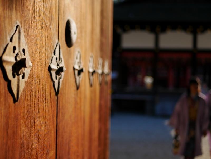 下鴨神社にて