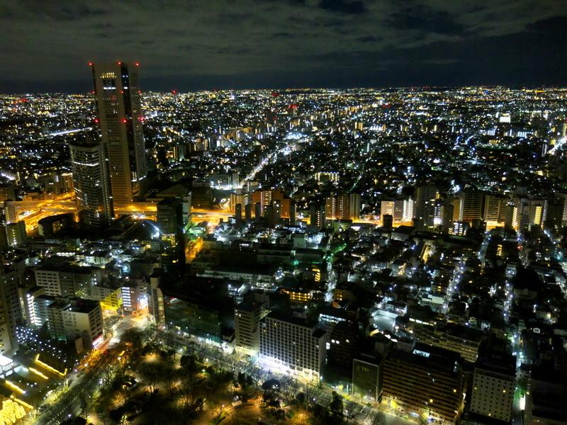 2020年の夜明けを待つ東京3@新宿都庁展望台