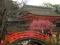 光琳梅と楼門@下鴨神社