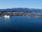 琵琶湖大橋から望む比良山系