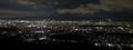 大文字山からの京都夜景~京都タワーから御苑あたり