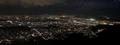 大文字山からの京都夜景~上京、左京、北あたり