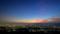 夜の始まり@大文字山