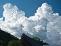 「沸き上がる雲」33回松尾大社写真コンテスト松尾大社賞