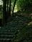 石段を上る@嵐山