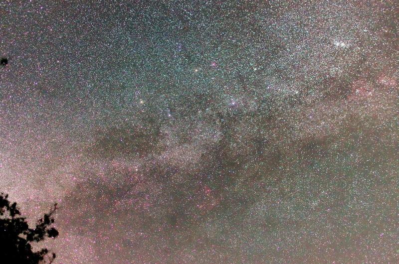 秋の銀河 ペルセウス座、カシオペア座、ケフェウス座、白鳥座