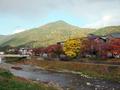 比叡山を望む@一条寺付近