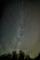 沈む白鳥座と直立する銀河@おにゅう峠