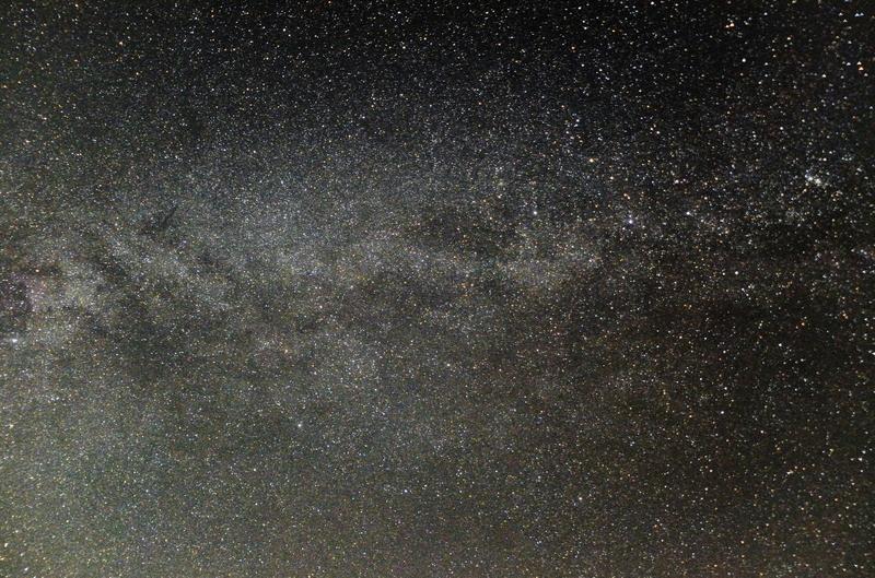 秋の銀河-ケフェウス座、カシオペア座@おにゅう峠