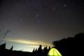 山で見る冬の星座@おにゅう峠