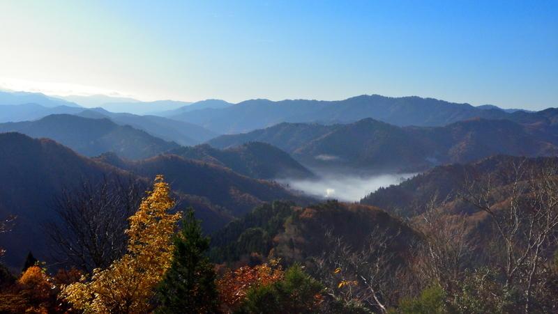 おにゅう峠の雲海スポット