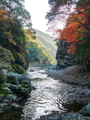 清滝川と保津川合流