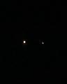 木星と土星のランデブー(2020年12月22日)