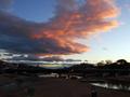 鴨川デルタの夕景