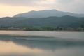 広沢池からみる愛宕山