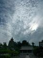 妙満寺と雲