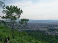 京の町を見下ろす@大文字山