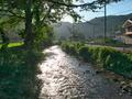 静原川の流れ