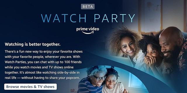 Amazon Prime Video ウォッチパーティー機能