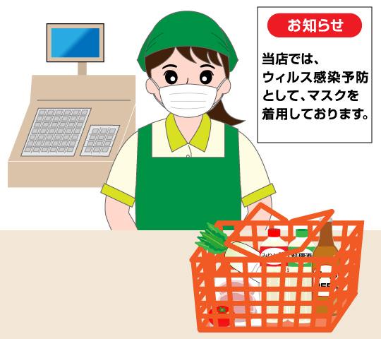 コロナウィルスの流行で、スーパーでの買い物の仕方が変わった!