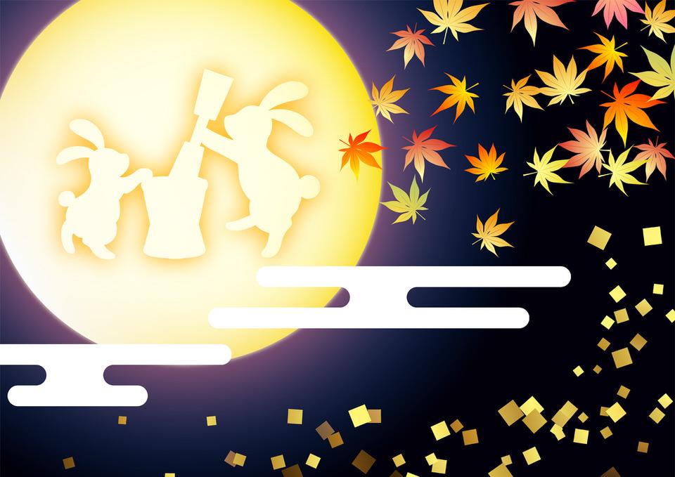 うさぎは月のシンボル