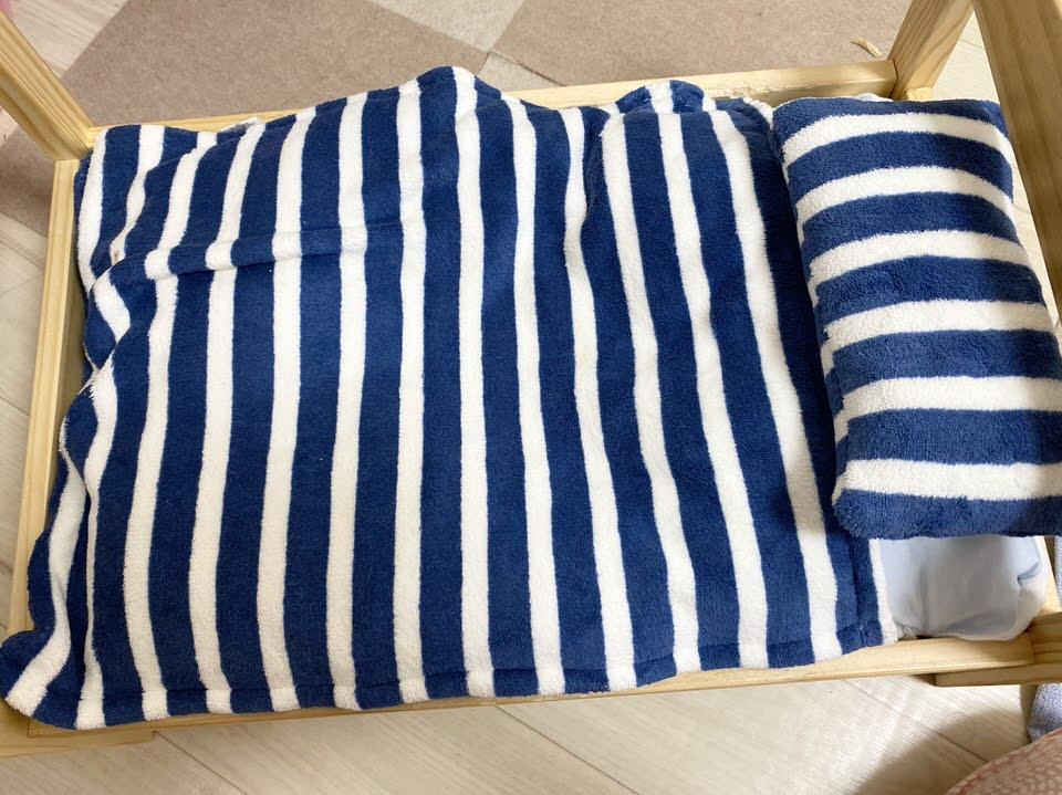 夏使用のペットベッド