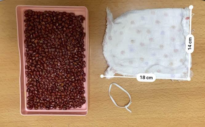 小豆カイロの材料