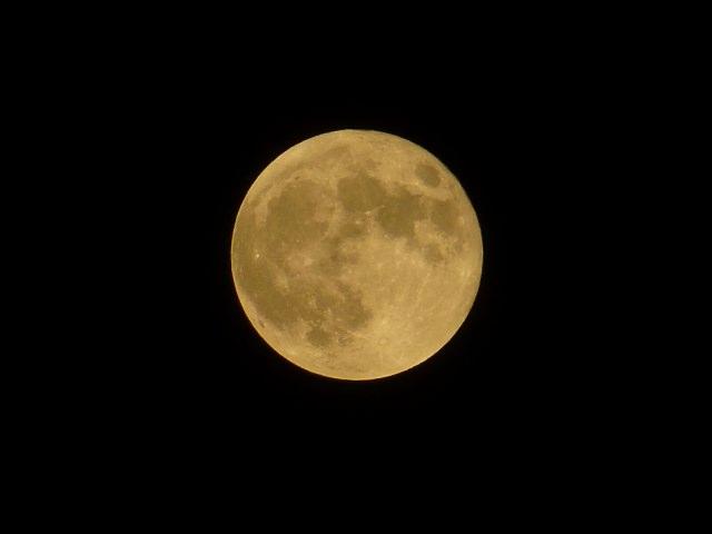 スーパームーン+皆既月食