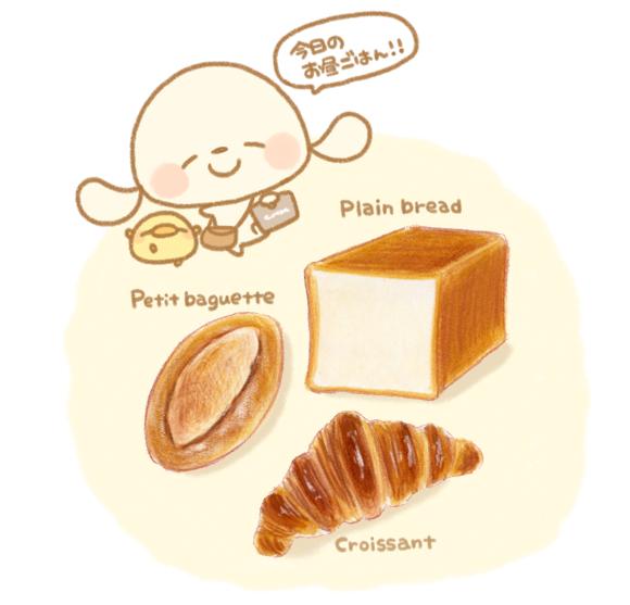 パン イラスト