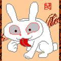 usakima2006-09-18 若冲オマージュ「猛兎図」
