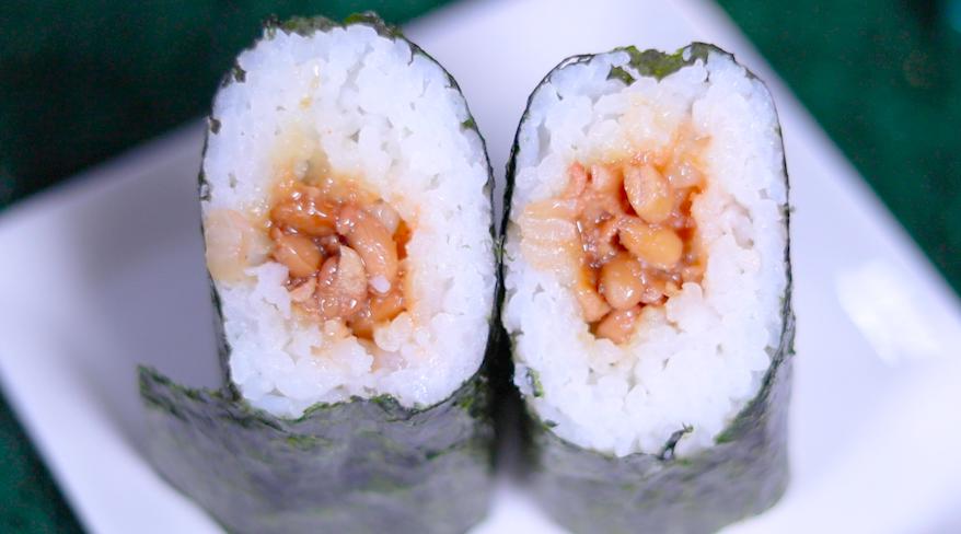 手巻寿司 いかめんたい納豆(増量) ローソン