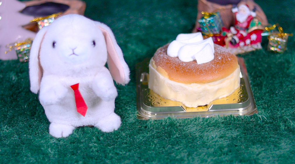 ふわふわスフレチーズケーキ ローソン