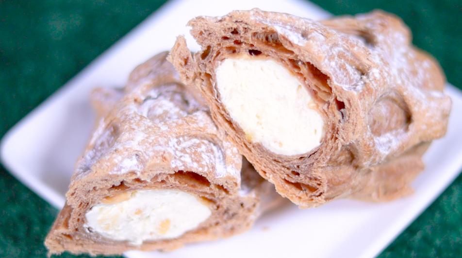 冷やして食べるりんごカスタードパイ キャラメル風味 ファミマ ファミリーマート