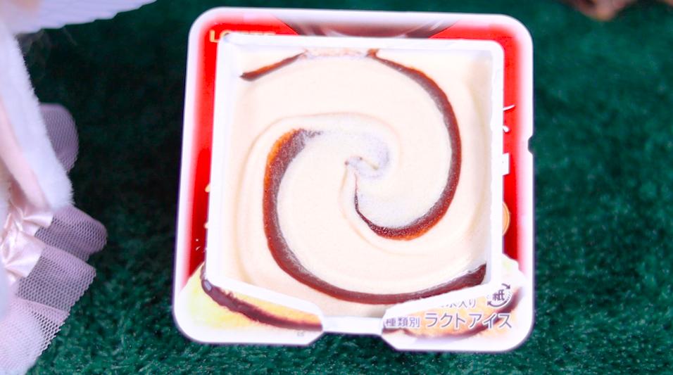 爽 とろける生チョコレートinバニラ セブン セブンイレブン コンビニアイス