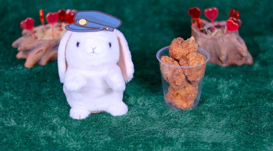 ごっち監修 鶏から 香ばし香味野菜 ローソン コンビニ からあげ