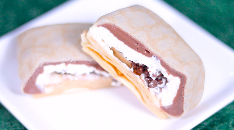 クレープ 生チョコクリーム&ホイップ セブン セブンイレブン コンビニスイーツ