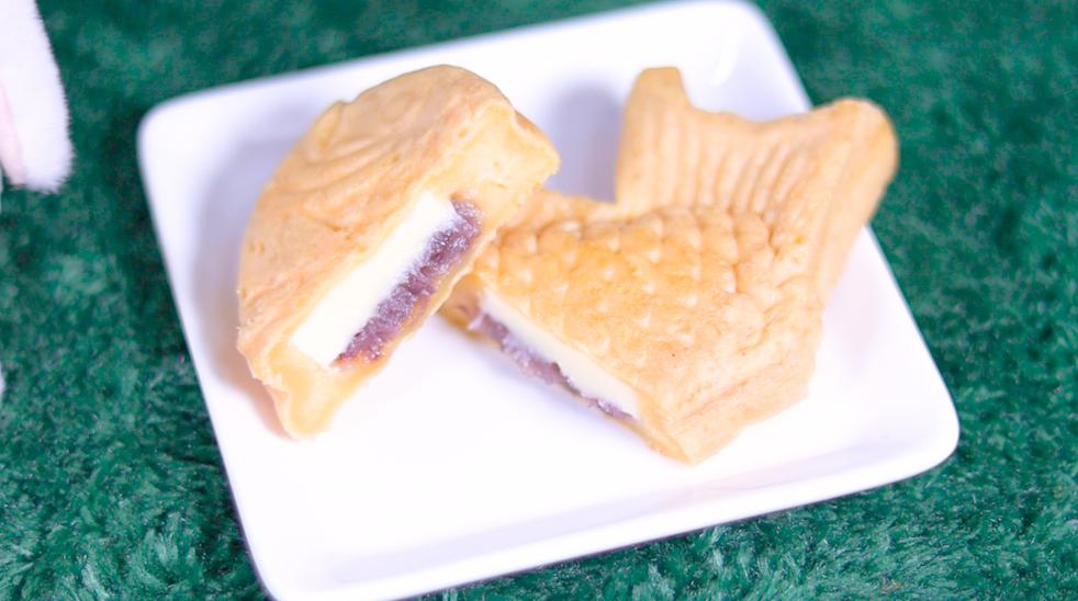 Uchi Café×八天堂 あんバタかすたーどたい焼き ローソン コンビニスイーツ LAWSON