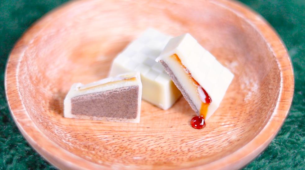 チロルチョコ焦がしチーズケーキ ローソン コンビニスイーツ LAWSON お菓子