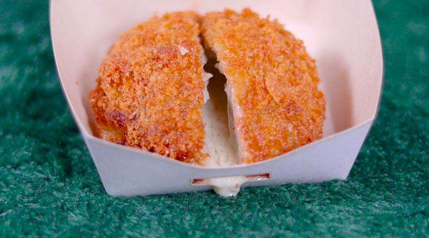あふれメンチ チーズ ローソン LAWSON コンビニ スイーツ 惣菜 揚げ物