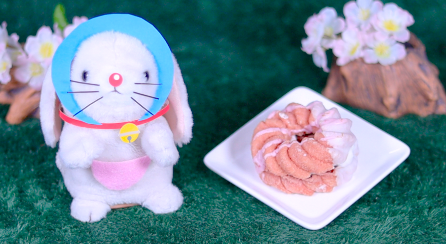 桜フレンチ あずき&ホイップ ミスド ミスタードーナツ 桜 ドーナツ