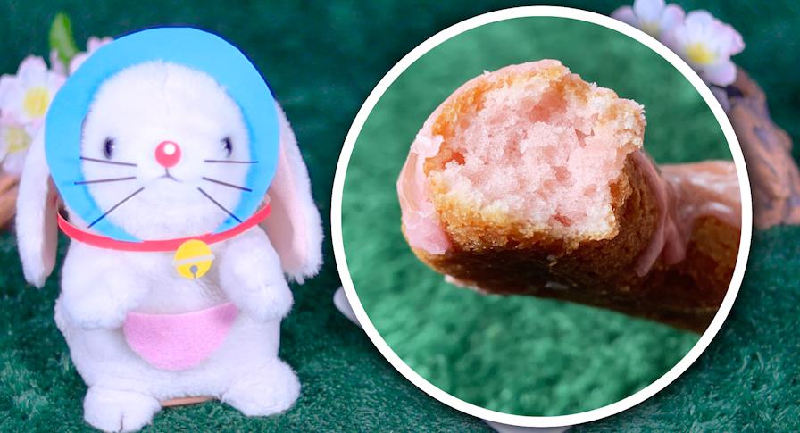 桜もちっとドーナツ 桜フレーバー ミスド ミスタードーナツ 桜 ドーナツ